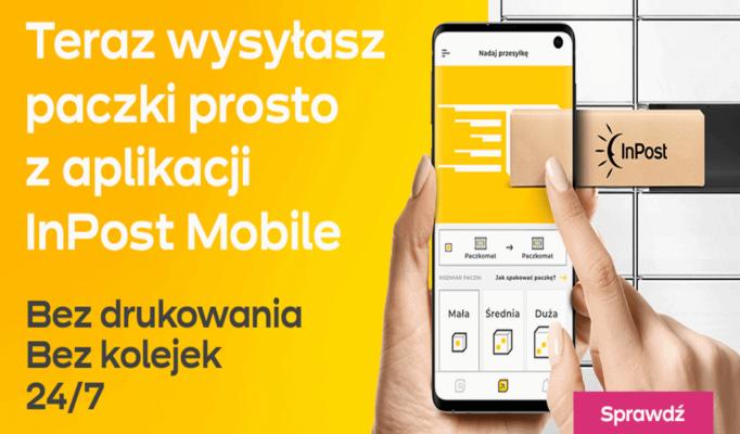 nadawaj w aplikacji InPost Mobile